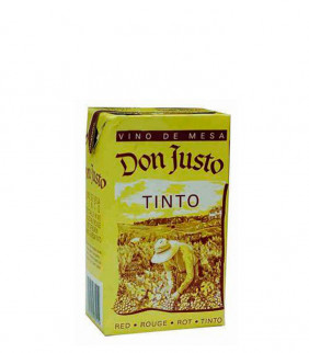 Don Justo - Brick Tinto 1l