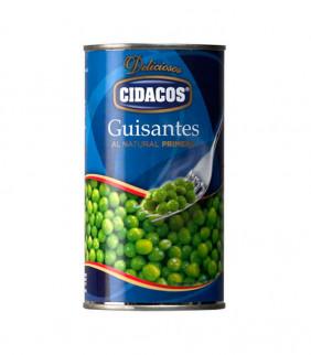 Guisantes CIDACOS (Lata 345g.)